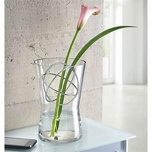 Vase En Verre Pas Cher : vase en verre avec sph re d corative pas cher pro idee ~ Teatrodelosmanantiales.com Idées de Décoration