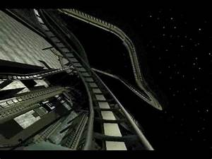 Rct3 Space Mountain Lights On - YouTube