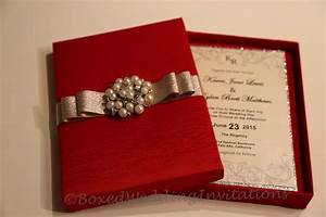 Top collection of box wedding invitations theruntimecom for Wedding invitation box ideas