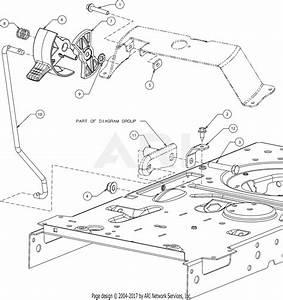 Troy Bilt 13ax79bt011 Horse Hydro  2017  Parts Diagram For