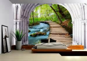 tapisserie paysage papier peint 3d personnalis 233 dans la