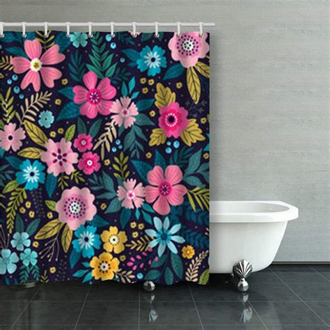 Artjia Amazing Seamless Floral Pattern Bright Colorful