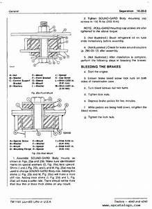 John Deere 4040  U0026 4240 Tractors Tm1181 Pdf Manual