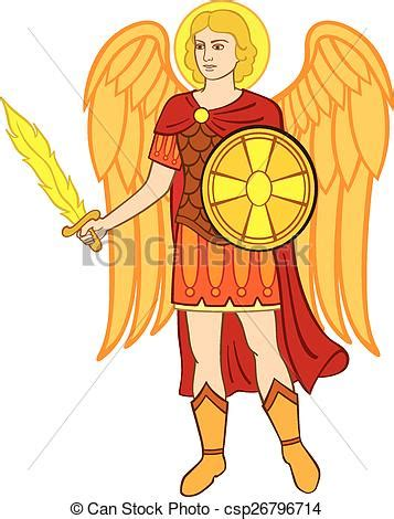 St Clip The Archangel Clipart Clipground