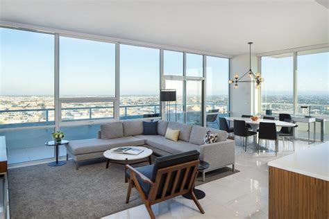 los angeles furnished apartments  rent level living la