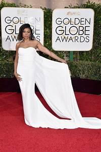 Taraji P. Henson's Golden Globes 2016 Red-Carpet Dress ...