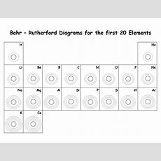 18 Best Images Of Bohr Diagram Worksheet  Bohr Model