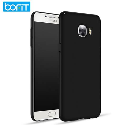 bofit for samsung galaxy c5 c7 c9 pro ultra thin smooth matte back cover for c5000
