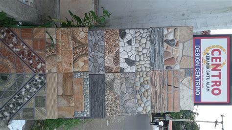 jual keramik motif batu alam   lapak toko kota