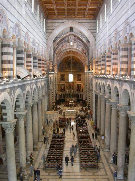 Interno Duomo Di Pisa by La Costruzione Della Torre Di Pisa Festival Medioevo