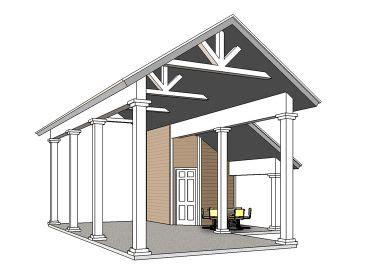 Motorhome Carport Plans by Carport Plans Carport Designs The Garage Plan Shop