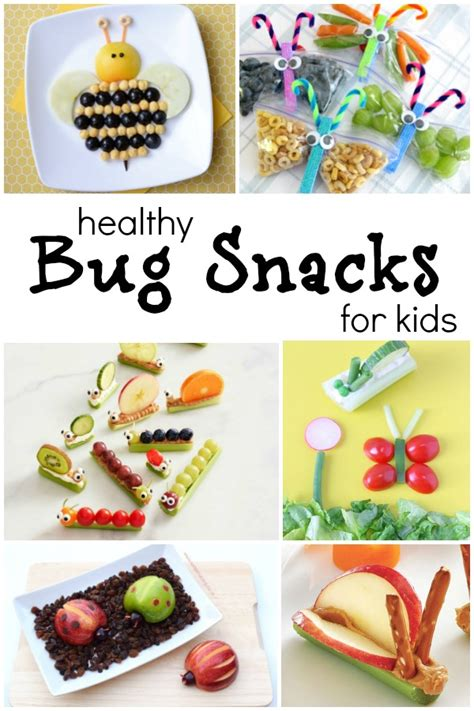 healthy fun snacks for preschoolers the cutest bug theme healthy snacks for fantastic 696