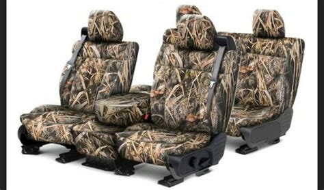 2017 Ford F 150 Custom Seat Covers Leather Camo Carid