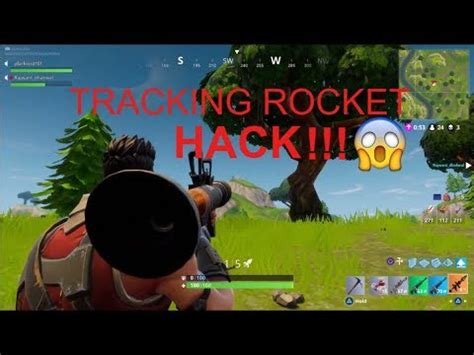 fortnite hack tracking rocket launcher kills youtube