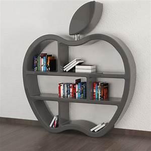 Bücherregal Modernes Design : b cherregal modern rot wei oder grau gluttony ~ Sanjose-hotels-ca.com Haus und Dekorationen