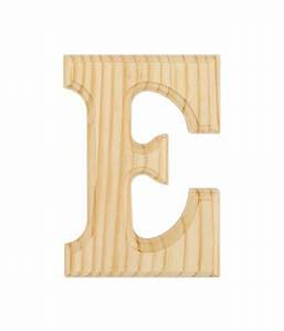 wood letters 6quot quotsingle letter e buy online at best With wooden letters online india