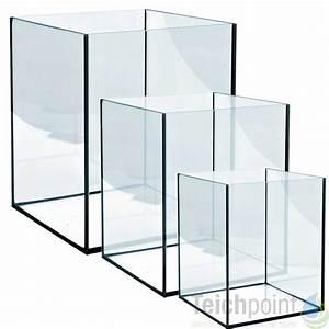 Glasstärke Aquarium Berechnen : aquarium glasbecken cube serie deckel w rfel becken ~ Haus.voiturepedia.club Haus und Dekorationen
