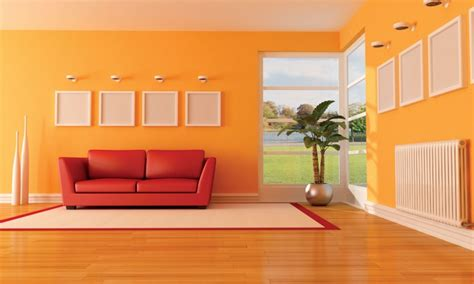 painting a room orange orange living room designs one decor