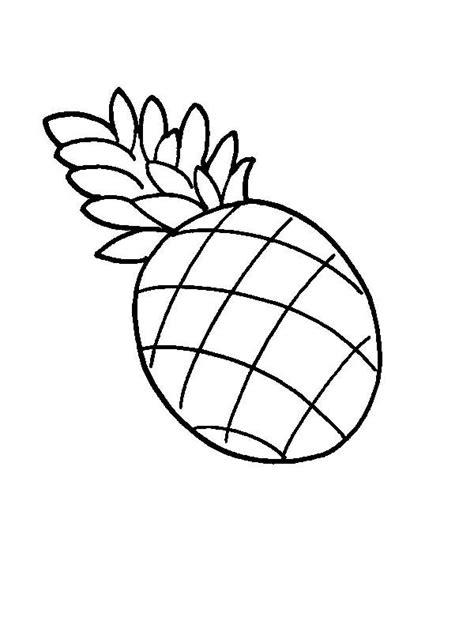 drawing  pernambuco pineapple coloring page