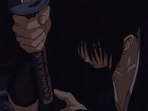 gif blood anime sword anime gif Kenshin Himura Rurouni ...