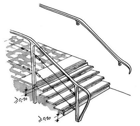 norme courante escalier exterieur accessibilit 233 b 226 timent bhc neufs circulations int 233 rieures verticales des communes