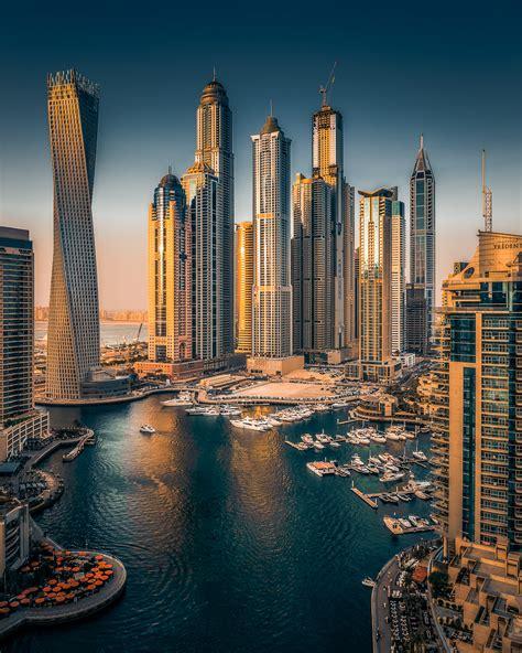 Dubai Marina on Behance