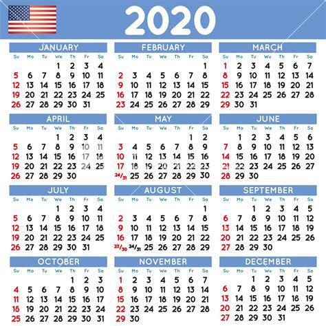 elegant squared calendar english usa year calendar calendar