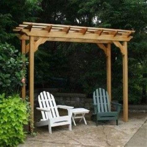 wooden outdoor small pergola small pergola designs