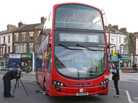 Dramatic Video Shows Crowd Lift Doubledecker Bus To Save