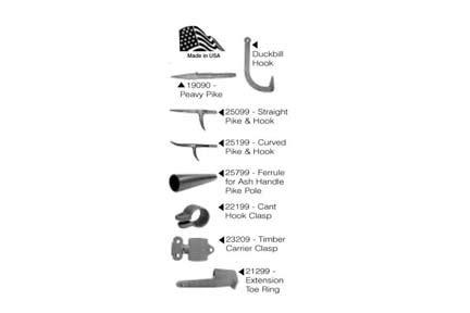 mule replacement parts  american crane