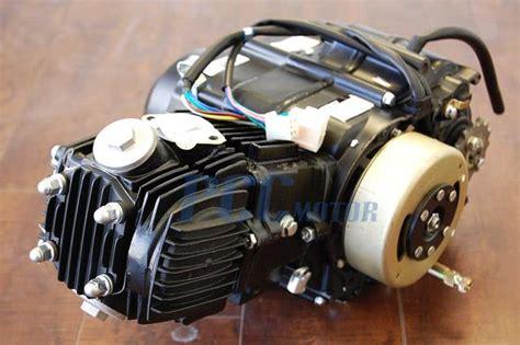 pit bike motor 110cc semi auto 4 speed engine motor atv pit dirt bike i en14 basic ebay