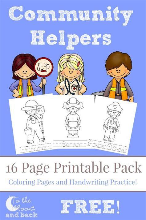 community helpers pack community helpers preschool community helpers kindergarten