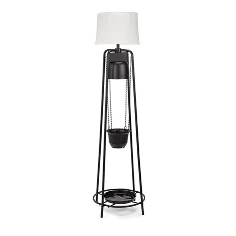 black led grow light glogro 71 5 in 45 watt black led grow light decorative