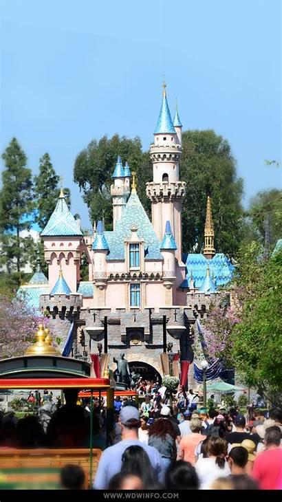 Disney Wallpapers Disneyland Walt Theme Castle Park