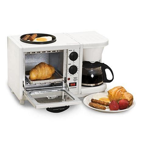 cuisine center elite cuisine 3 in 1 breakfast center 7332713 hsn