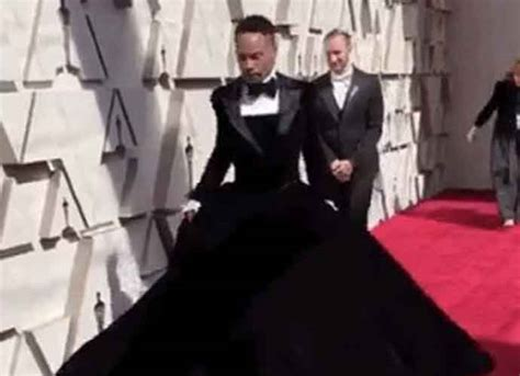 Oscars Billy Porter Christian Siriano Tuxedo Dress