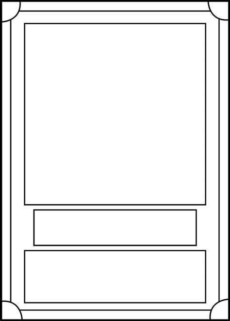 trading card template front  blackcarrot