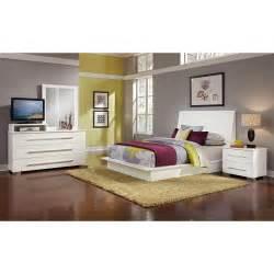 dimora white ii 6 pc queen bedroom value city furniture