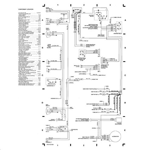 2000 Dodge Ram 2500 Wiring Diagram Schematic by I Am Looking For The Wiring Diagram For A 1991 Dodge