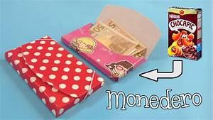 Monedero de cartón Manualidades con reciclaje YouTube