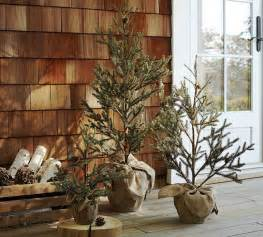 Small Christmas Trees For Front Porch by Faux Led Lit Potted Pine Tree Contemporary Christmas