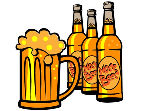 cartoon beer bottle funny beer clip art free clipart images clipartix