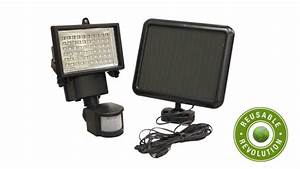 60 Led Solar Powered Security Motion Sensor Flood Light