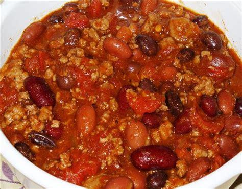 easy chili recipe easy crock pot chili recipe dishmaps