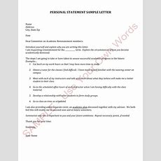 12+ Official Statement Letter Format Examples  Pdf, Doc Examples