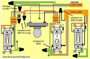 How To Install A Light Switch With Four Wires