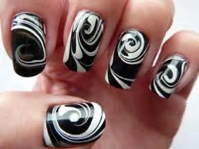 Black acrylic nail art designs reasabaidhean