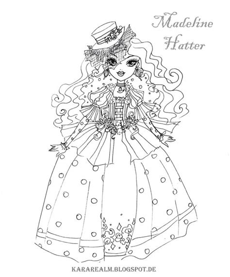 royal rebels   high girl coloring pages