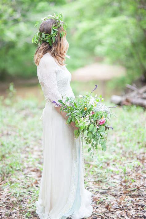 wedding dress   beautiful bohemian elopement