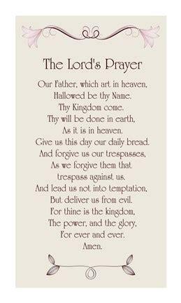 lords prayer floral fine art print  veruca salt
